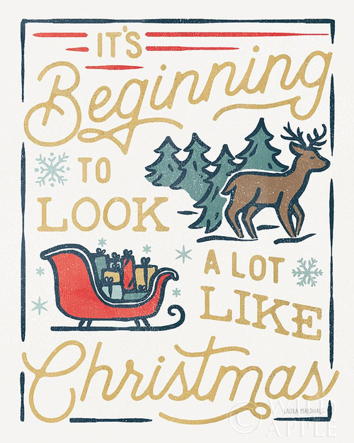 Christmas Adventures VII Poster Print by Laura Marshall # 60099