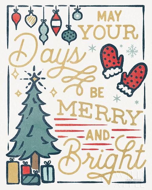 Christmas Adventures VI Poster Print by Laura Marshall # 60098