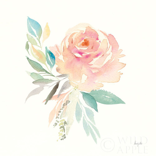 Watercolor Blossom III Poster Print by Kristy Rice # 60369