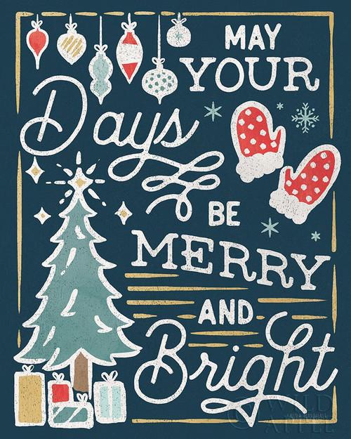 Christmas Adventures VI Dark Poster Print by Laura Marshall # 60105