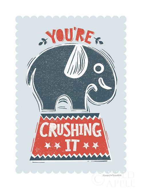 Crushing It Poster Print by Alexandra Snowdon # 60058
