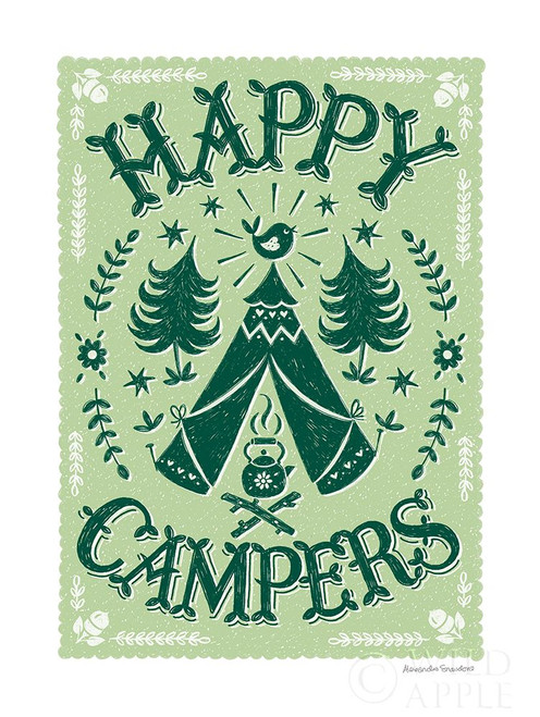 Happy Campers Poster Print by Alexandra Snowdon # 60074