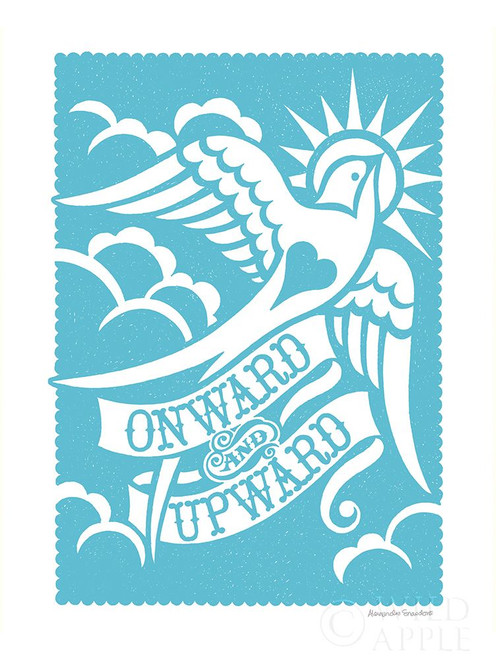 Onward and Upward Poster Print by Alexandra Snowdon # 60055