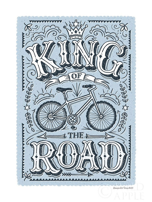 King of the Road Poster Print by Alexandra Snowdon # 60025