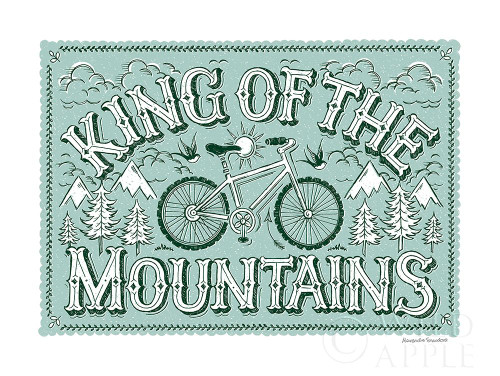 King of the Mountains Poster Print by Alexandra Snowdon # 60024