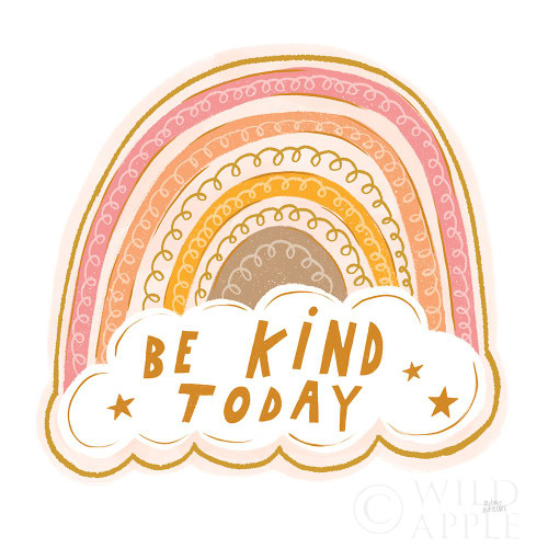 Be Kind Today Poster Print by Melissa Averinos # 59983
