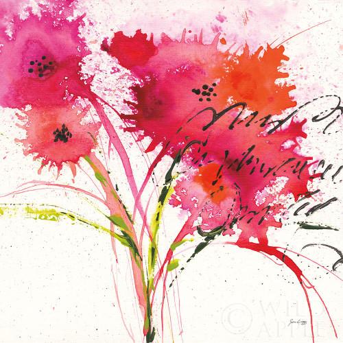 Flower Talk Poster Print by Jan Griggs # 59640