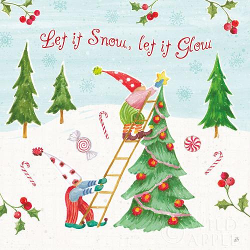 Elf Factory V Poster Print by Daphne Brissonnet # 58522