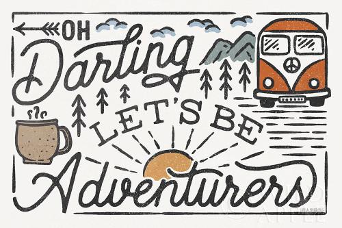 Adventurous I Poster Print by Laura Marshall # 58453
