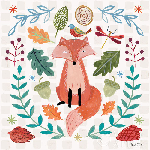 Whimsical Woodland II Poster Print by Farida Zaman # 58231