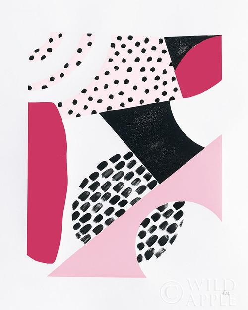 Luminous Tumble II Pink Poster Print by Laura Marshall # 58413