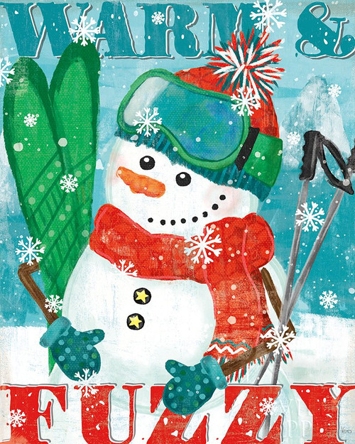 Snowy Fun III Poster Print by Veronique Charron # 58170