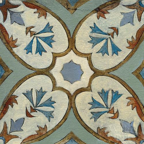 Old World Tile IV Poster Print by Silvia Vassileva # 58095