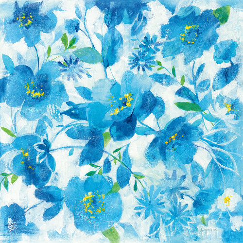 Scattered Floral Poster Print by Danhui Nai # 58214