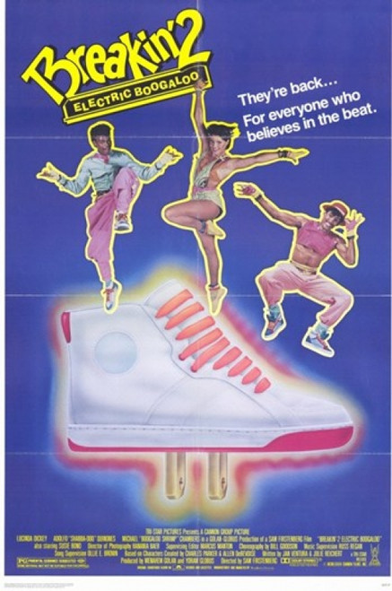 Breakin 2 Electric Boogaloo Movie Poster (11 x 17) - Item # MOV208899