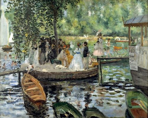 La Grenouillere Poster Print by Pierre-Auguste Renoir # 57422