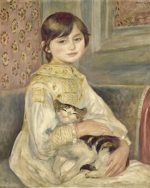 Julie Manet Poster Print by Pierre-Auguste Renoir # 57393