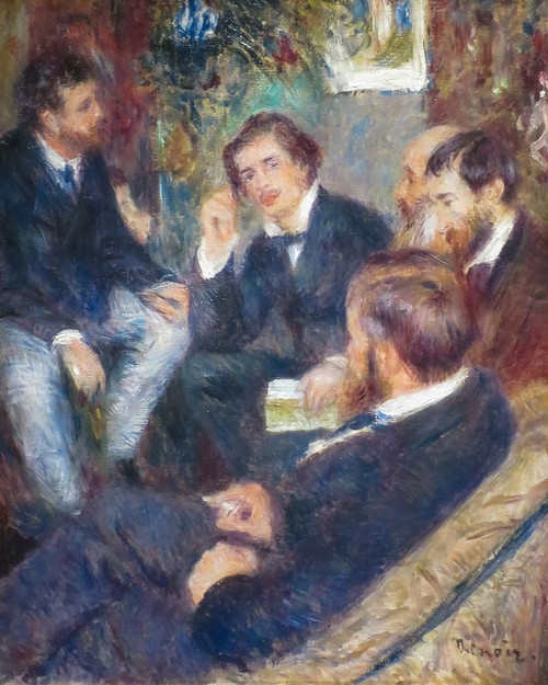 At Renoirs Home, rue St Georges Poster Print by Pierre-Auguste Renoir # 57369