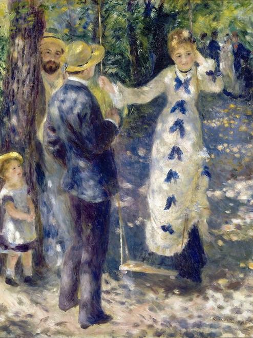 The Swing Poster Print by Pierre-Auguste Renoir # 57396