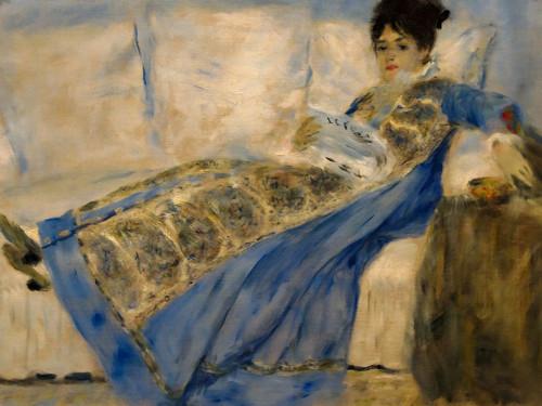 Madame Claude Monet Poster Print by Pierre-Auguste Renoir # 57382