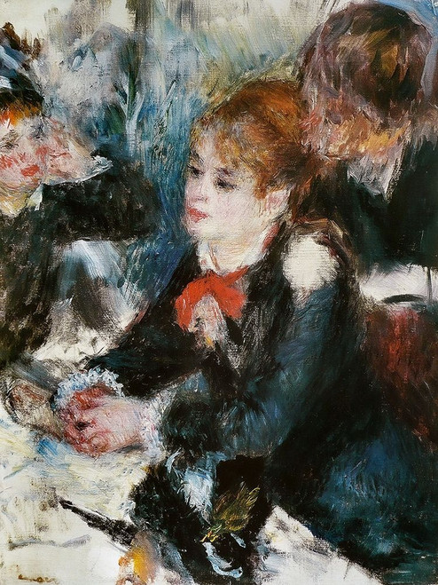 At the Milliners Poster Print by Pierre-Auguste Renoir # 57411