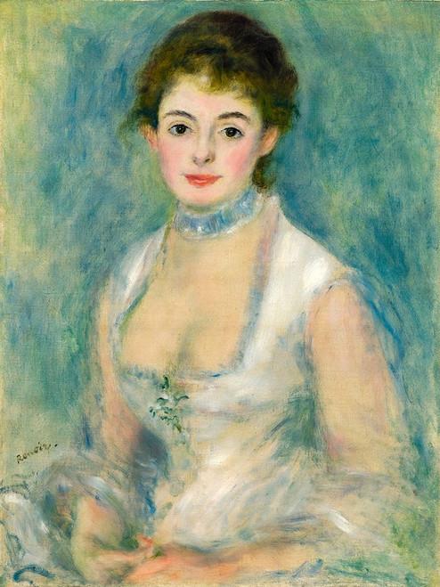 Portrait of Madame Henriot Poster Print by Pierre-Auguste Renoir # 57332