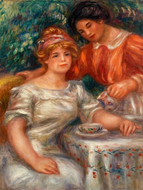 Tea Time 1911 Poster Print by Pierre-Auguste Renoir # 57304