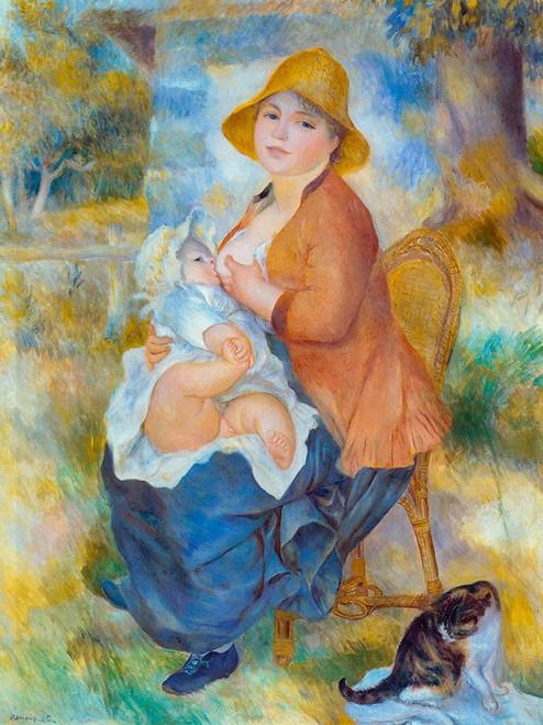 Maternity Poster Print by Pierre-Auguste Renoir # 57327
