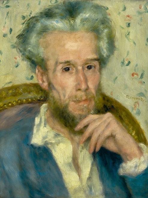 Portrait of Victor Chocquet Poster Print by Pierre-Auguste Renoir # 57347