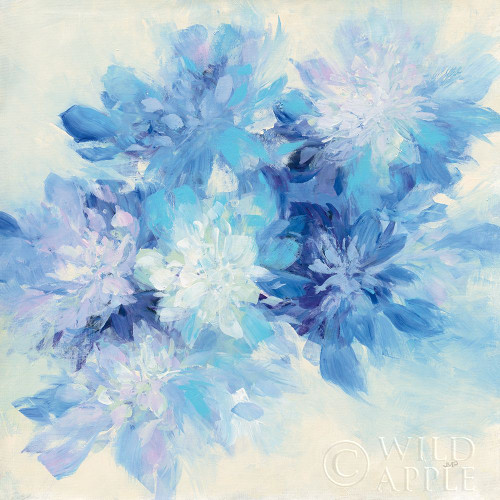 Burst of Blue Poster Print by Julia Purinton # 57167