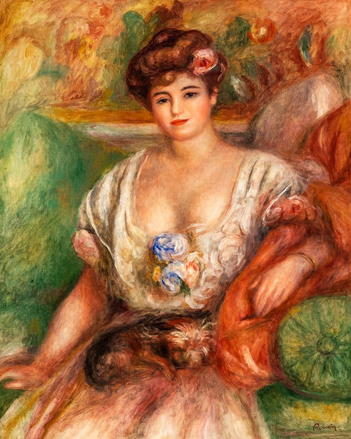 Portrait of Misia Sert 1907 Poster Print by Pierre-Auguste Renoir # 57157
