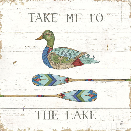 Lake Sketches VII Color Poster Print by Daphne Brissonnet # 56859