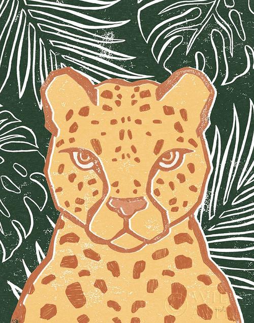Jungle II Green Poster Print by Moira Hershey # 59365