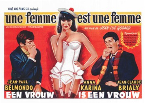 A Woman Is a Woman Movie Poster (17 x 11) - Item # MOV412786