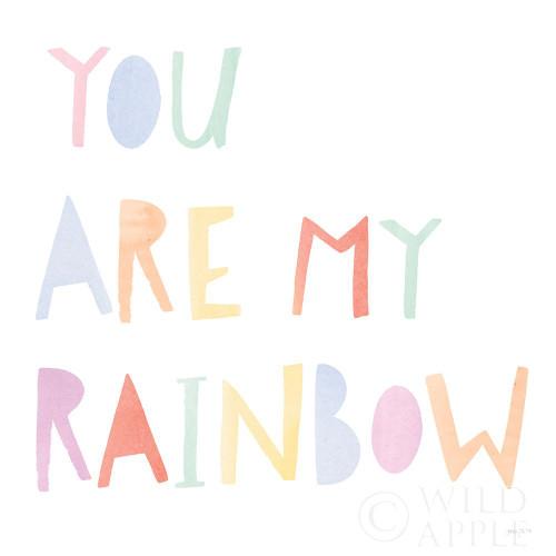 Lets Chase Rainbows X Poster Print by Jenaya Jackson # 58976