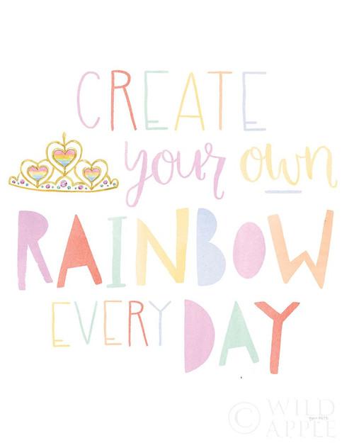 Lets Chase Rainbows III Poster Print by Jenaya Jackson # 58969