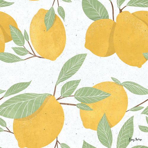 Fruity Cocktails Pattern II Poster Print by Becky Thorns # 58893