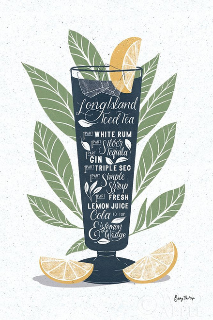 Fruity Cocktails II Poster Print by Becky Thorns # 58887