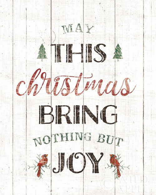 Christmas Joy Poster Print by Wild Apple Portfolio Wild Apple Portfolio # 58885