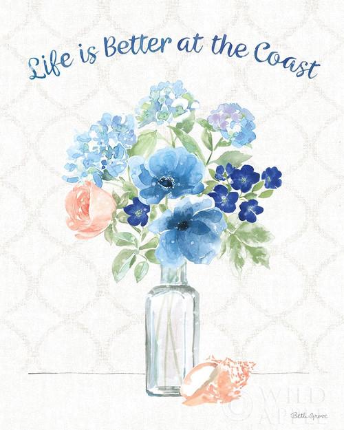 Coastline Botanical VIII Poster Print by Beth Grove # 58555