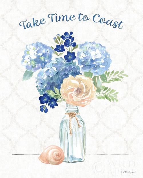 Coastline Botanical V Poster Print by Beth Grove # 58552