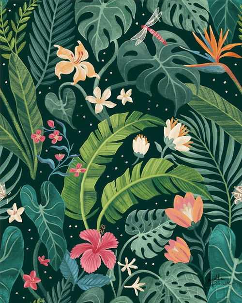Jungle Love Pattern I Poster Print by Janelle Penner # 56096