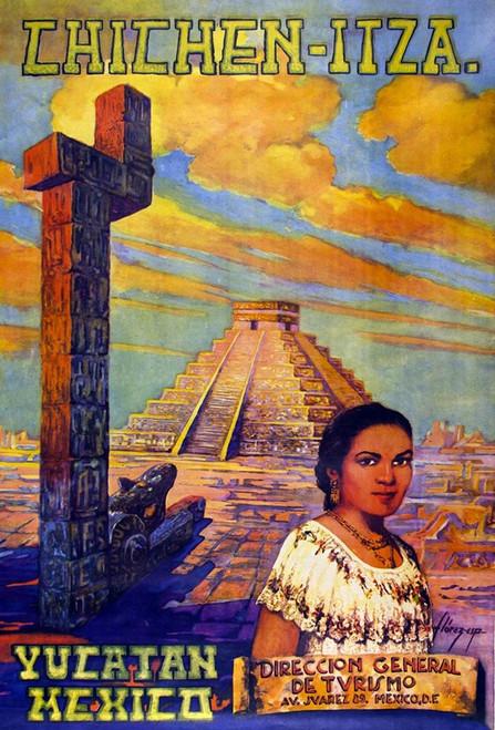Yucatan, Mexico Poster Print by Florez. Chichen Itza Florez. Chichen Itza # 55999