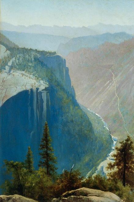 Yosemite Valley Poster Print by Albert Bierstadt # 55958