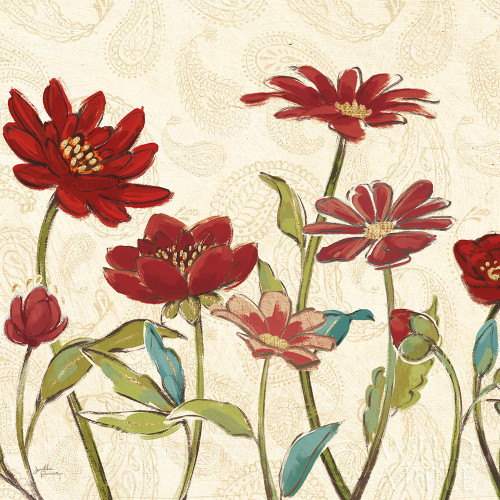 Red Gold Beauties III Crop Poster Print by Janelle Penner # 55943