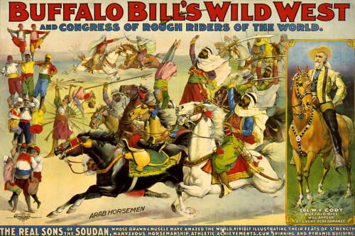 The Real Sons of the Soudan Poster Print by Buffalo Bills Wild West Show Poster Buffalo Bills Wild West Show Poster # 55797
