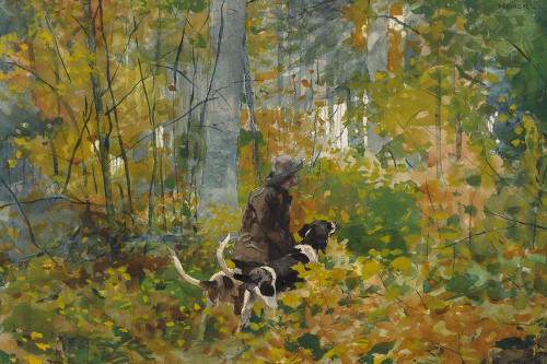 On the Trail Poster Print by Winslow Homer # 55678