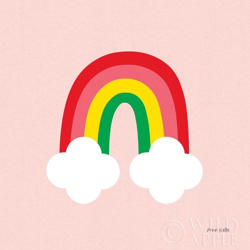 Bright Rainbow II Poster Print by Ann Kelle # 56493