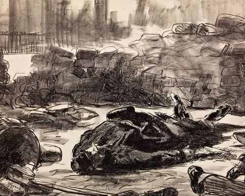 Civil War Poster Print by Edouard Manet # 56474