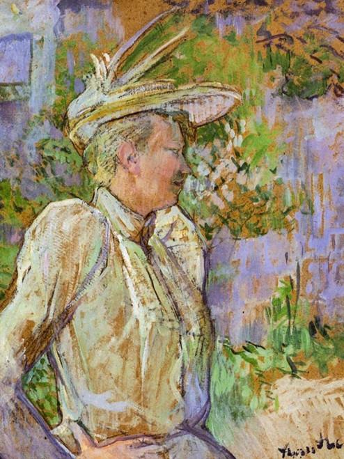 Gabrielle the Dancer Poster Print by Henri de Toulouse-Lautrec # 56435